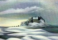 Lindisfarne Castle: card