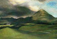Croagh Padraig, Co. Mayo: card