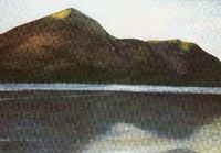 Catbells and Derwent Water in January: card