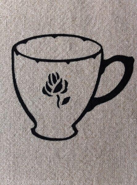 detail, Rose Teacup