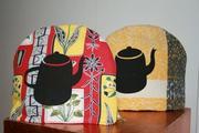 Tea cosies, Tea pot print