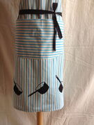 Pan print on cotton apron