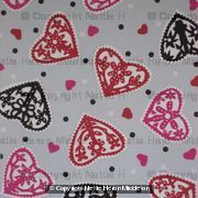 Hearts all-over Wrap 2864
