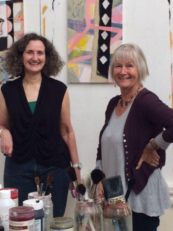 RWA Friends visit the studio