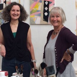 RWA Friends visit the studio