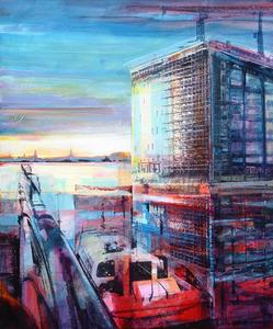 sunset-salford-quays