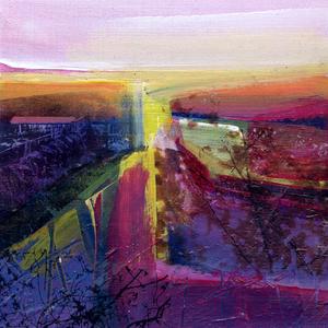 Evening sunlight, Fearney Fields