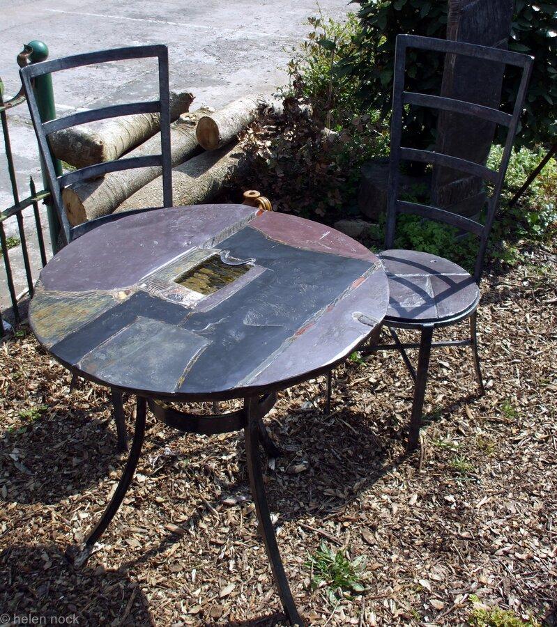 Garden furniture set: 'Amber View II'