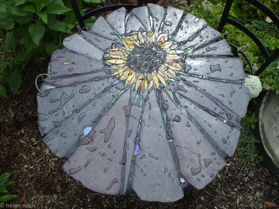 Sunflower Design Garden Table and Chairs