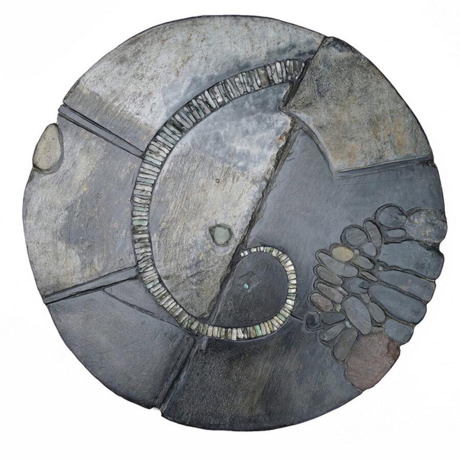 Spiral garden table