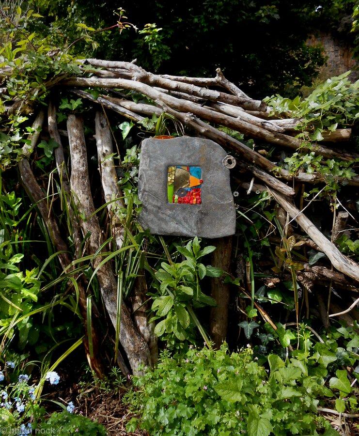 Bless this House wall or  garden border art