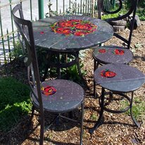 Peony Rose patio furniture set