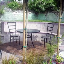 Cardiff Edition Table and Chair Patio Set