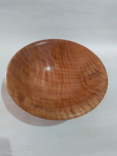 Steve Stafford flaired bowl quilted eucalypt