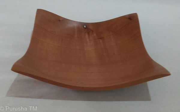 steve stafford quilted eucalypt flaired bowl
