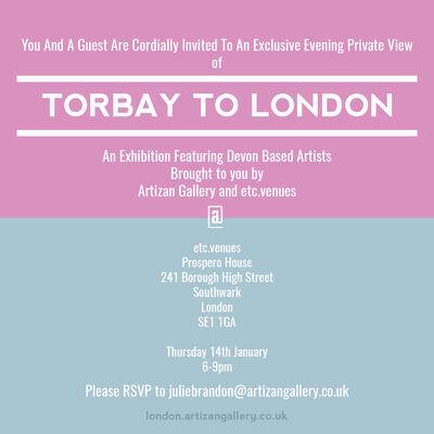 Torbay to London 2016