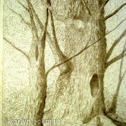 Silverpoint Tree