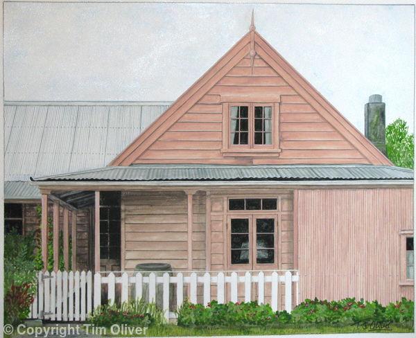 Whaler's Cottage, Kaikoura, New Zealand