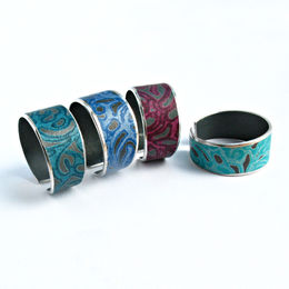 AL15 Cuff rings in various colours