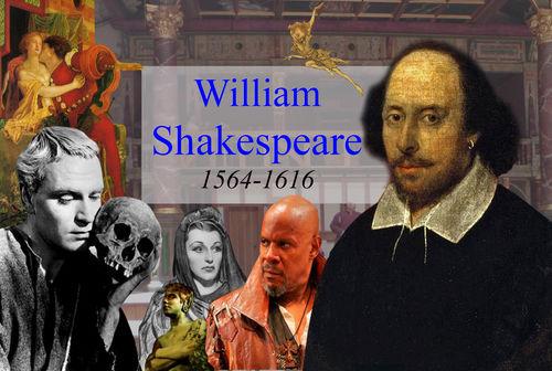 William Shakespeare Poster Digital Print