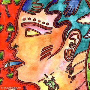 Magazine Illustration: Spirit, Hallucinogenic drugs