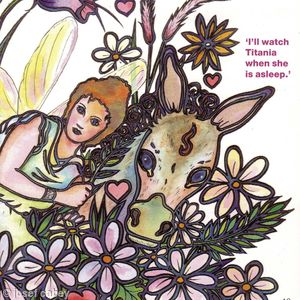 Book: Shakespeare by Christopher Catling (Titania and the Donkey) Channel 4