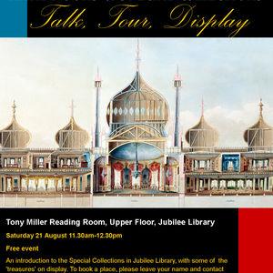 Rare Books event poster