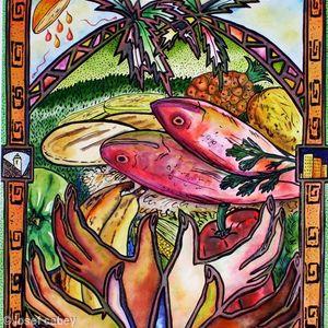 Magazine Illustration: Spirit, Food of Venezuela.