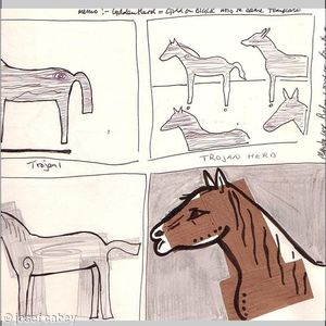Initial ideas for 'Trojan horse'