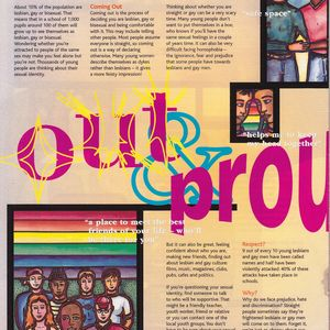 Magazine Illustration: LGBT Youth
