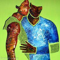 Together clinging