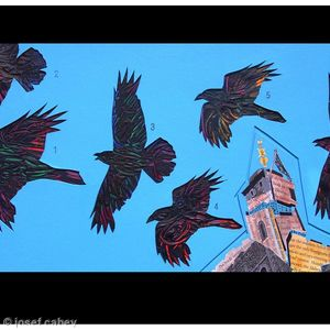 The Ravens did not look back as the white Tower fell