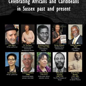 Celebrating Africans & Caribbeans in Sussex poster: Diversity Lewes