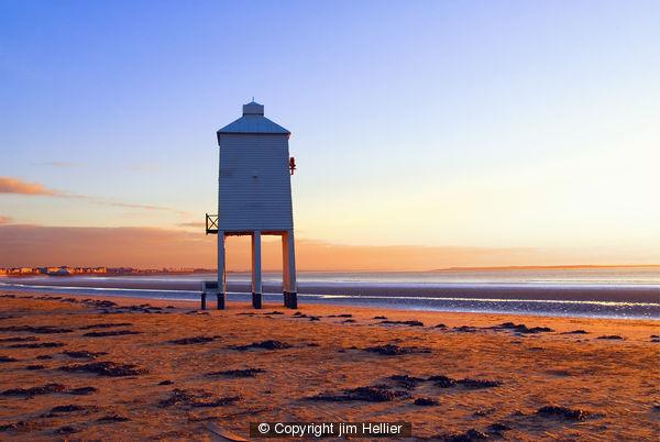 Old Light house Burnham on Sea - Photography