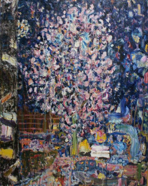 Blossom Tree With Stars