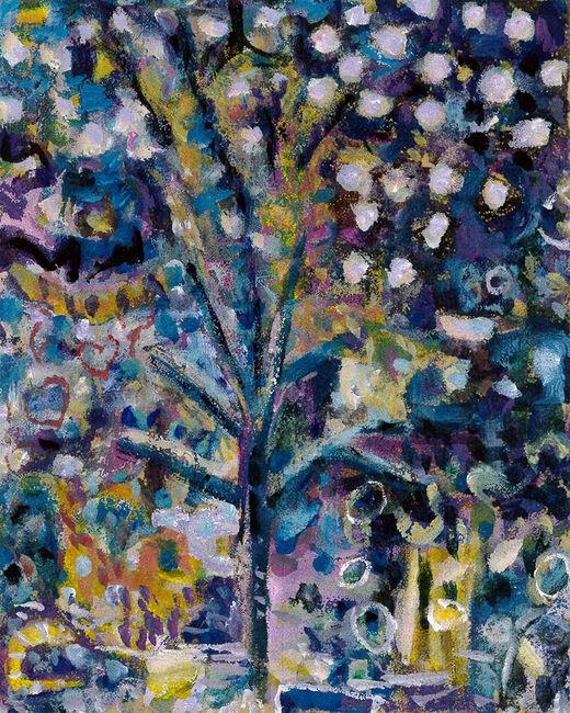 When Snow Fell on Bonnard's Almond Blossom..