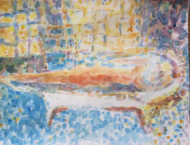 Nude in the Bath 1936 - My Version