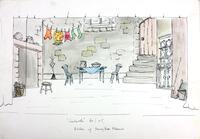Set Design For Cinderella Pantomime Cobham Players 03
