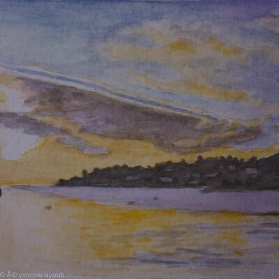 Sunset at Kolios