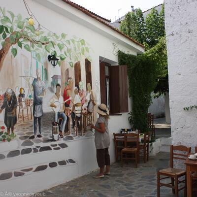Alexandros Taverna, Skiathos Mural
