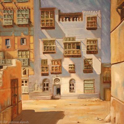 Saudi Jeddah Old Town 02