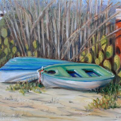 Boats at Kolios