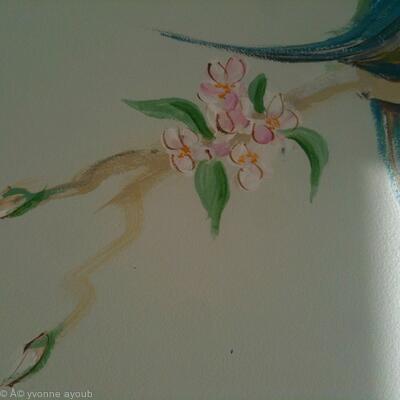 Apple Blossom Detail