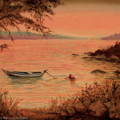 Kolios Bay at Dusk