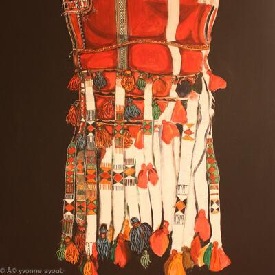 Bedouin Camel Saddle