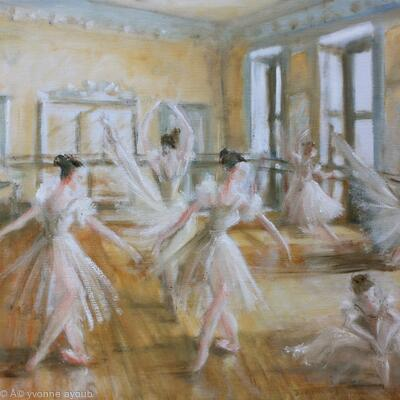 Tring Park The Ballet Room
