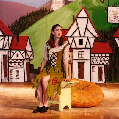 Set design for Cinderella Pantomime, Cobham Players 01