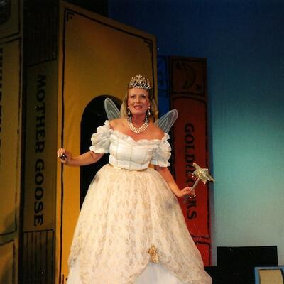 In Peter Pan (the Fairy Godmother)