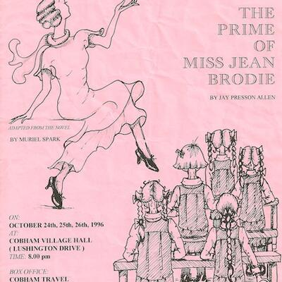 Programme design for The Prime of Miss Jean Brodie
