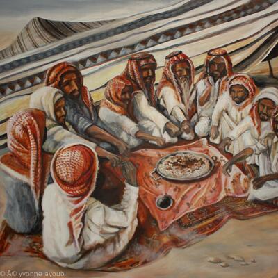 Bedouin at Dusk